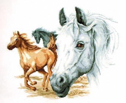 Табун лошадей, оригинал
