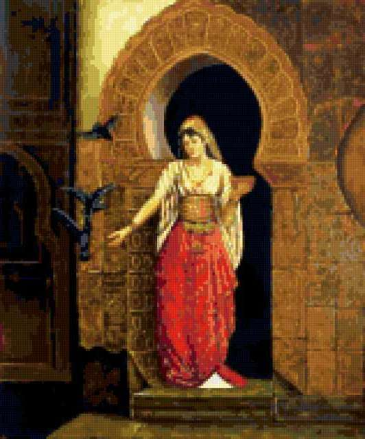 Арабская живопись 3, восток,