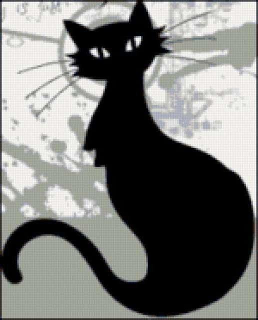 Чёрный кот, предпросмотр