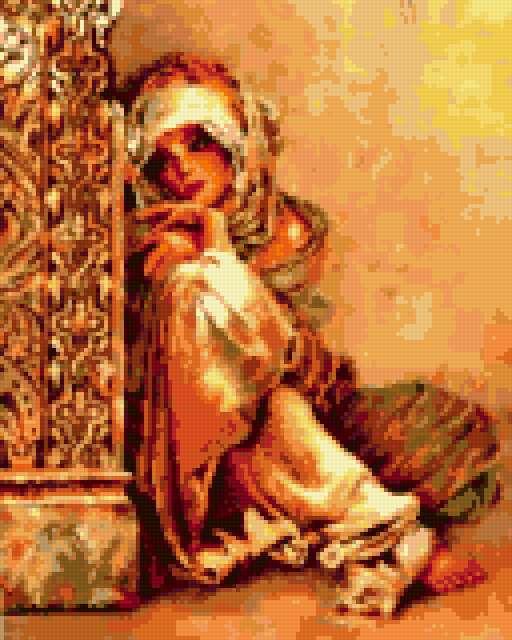 Арабская женщина, предпросмотр