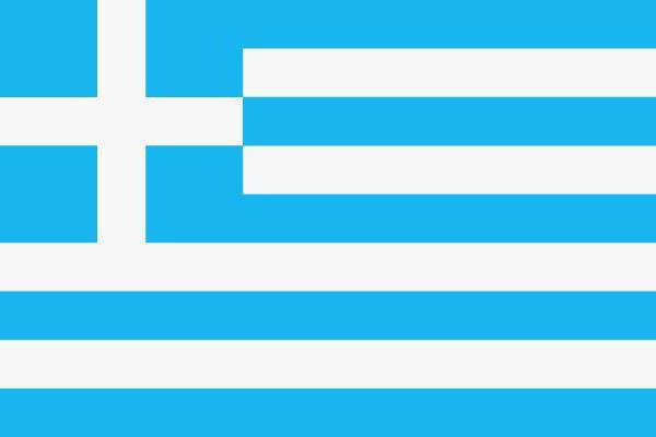 Флаг Греции, оригинал