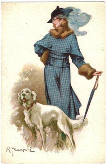 Дама с собачкой, женщина,