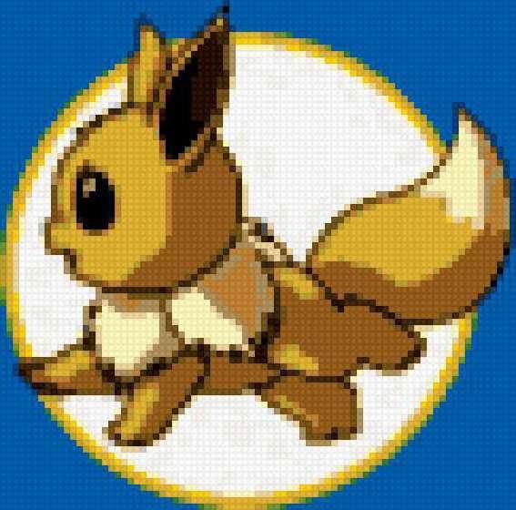 Лисичка, покемон, мультик