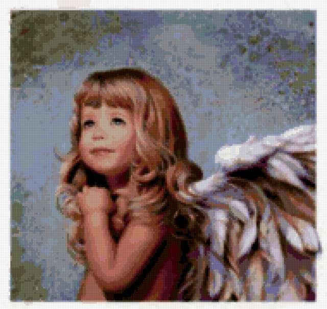 Предпросмотр · Крылья ангела: