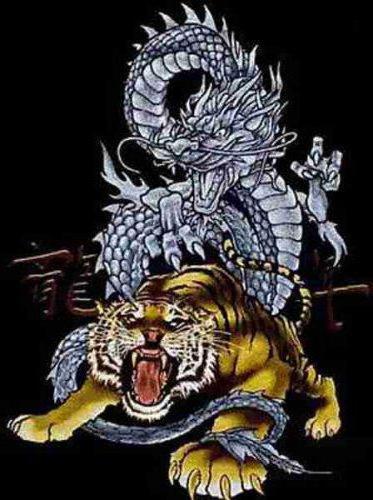 Тигр и дракон, оригинал