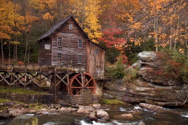 Водяная мельница, оригинал