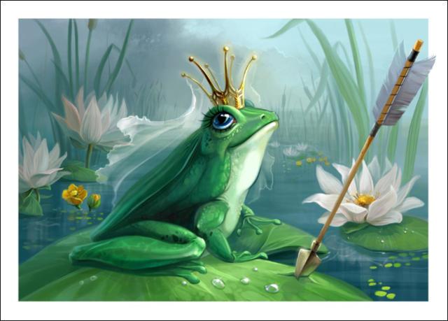 Царевна- лягушка, царевна