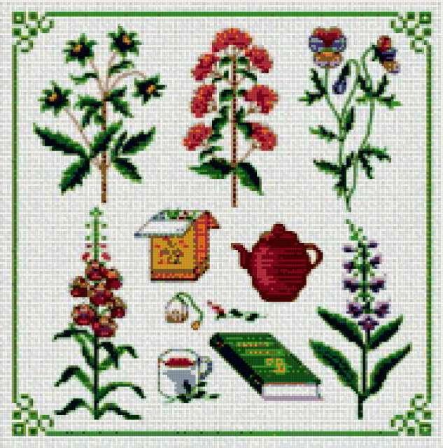 Краски цветов 10, предпросмотр
