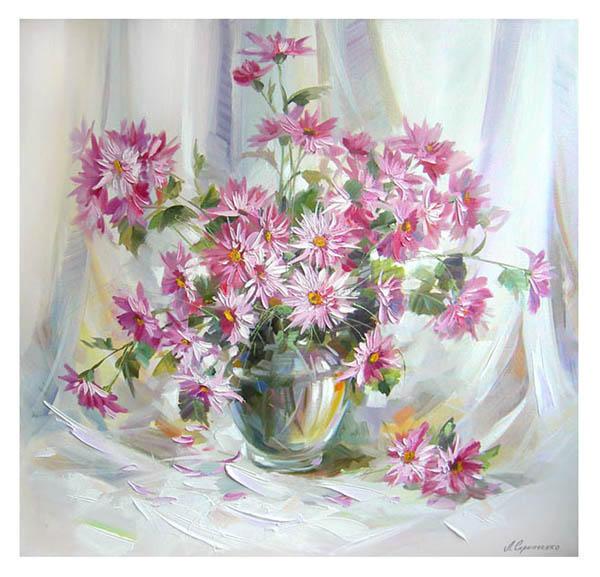 Зимняя хризантема, оригинал