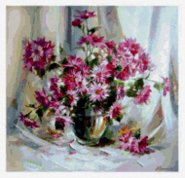 Зимняя хризантема