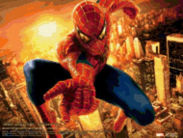 Человек паук, предпросмотр