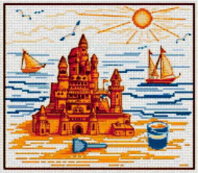 Замок на песке, предпросмотр