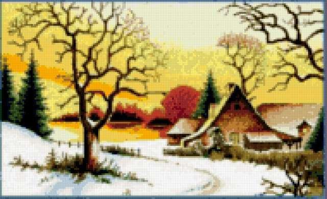 ЗИМНЕЕ УТРО, зима, утро,