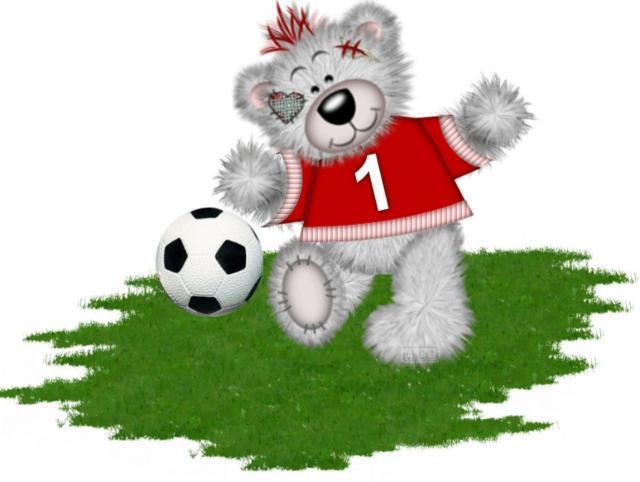 Тедди футболист, оригинал