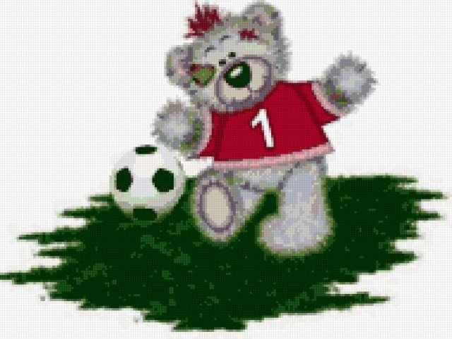 Тедди футболист, предпросмотр