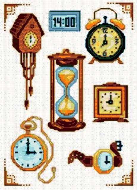 часы с кукушкой, время