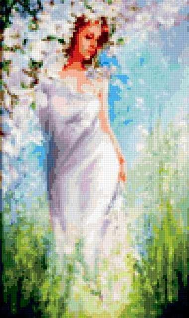 Девушка-весна, предпросмотр
