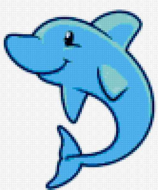 Дельфинчик, предпросмотр