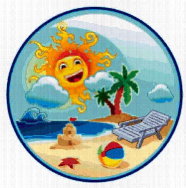 Пляж, пляж, солнце, море,