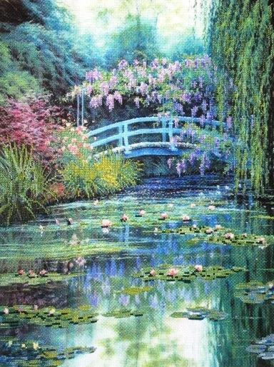 Японский мостик Моне, оригинал