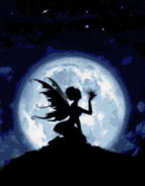 Восход луны, предпросмотр