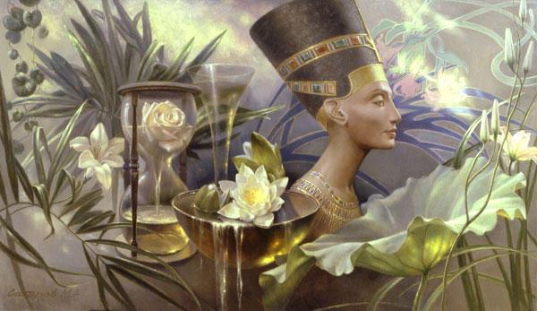 Нефертити, оригинал