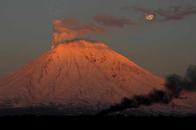 Ключевской вулкан, оригинал