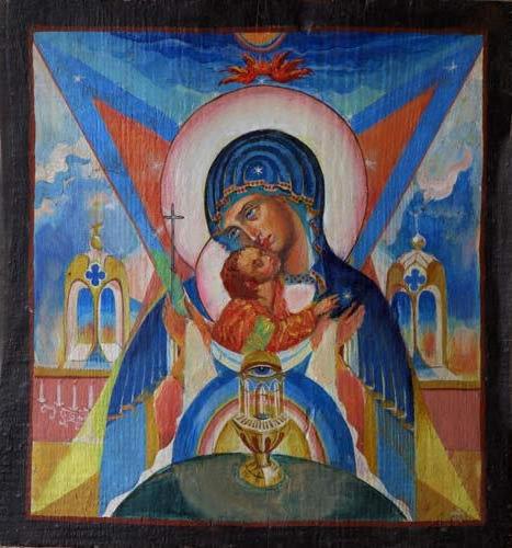 Образ Покрова Божией Матери,