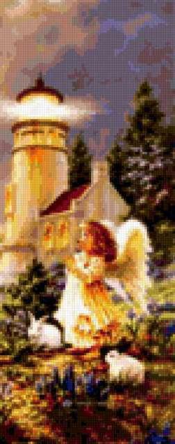 Ангел у маяка, предпросмотр