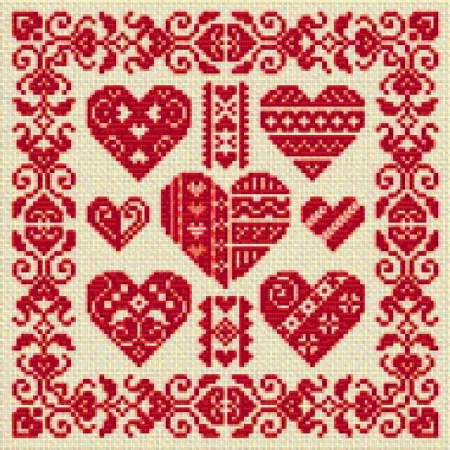 Сердечки, сердечки, сердце