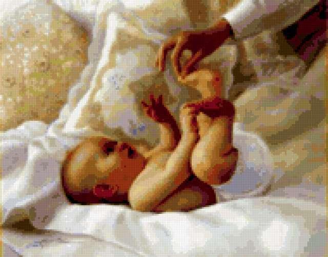 Младенец, дети, ребенок, спит,