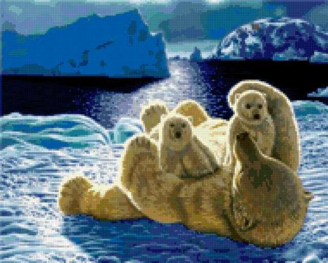 Белый медведь, предпросмотр