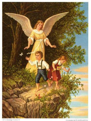Ангел хранитель, ангелы