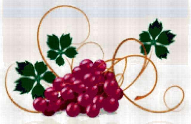 Гроздь винограда, предпросмотр