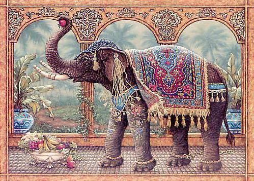 """Триптих """"Королевский слон"""" 2ч."""