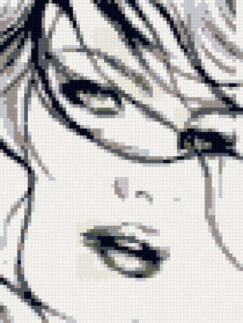 Лицо девушки, предпросмотр