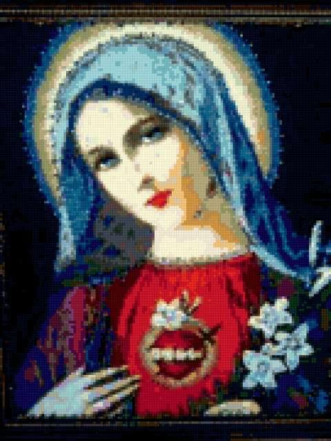 Редкая католическая икона