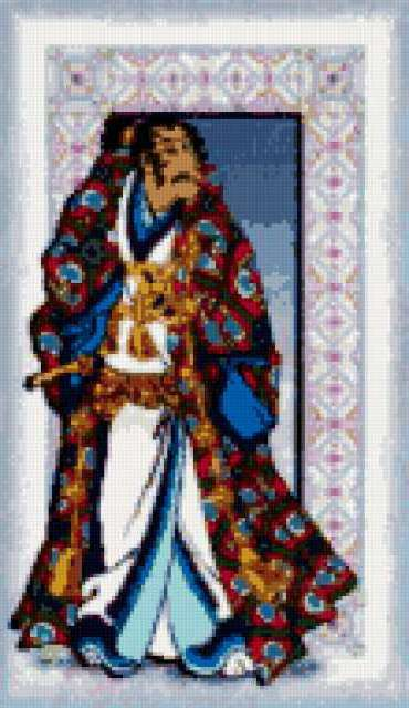 Схема самурай вышивка