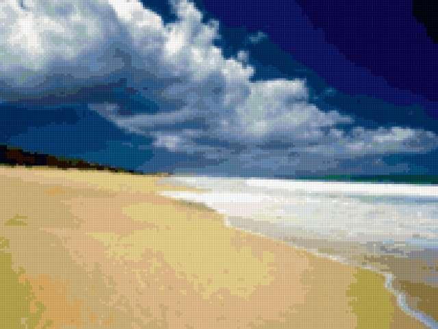 Пустынный пляж, предпросмотр