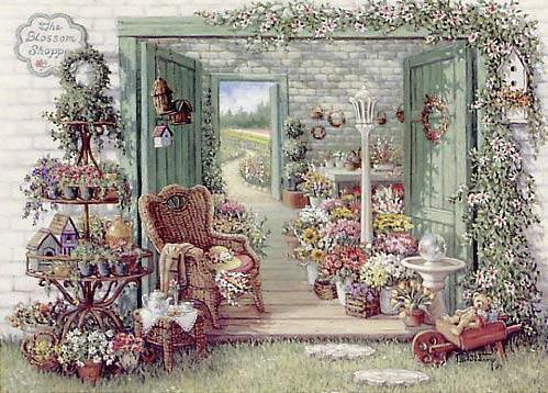 Цветочный магазин, цветы