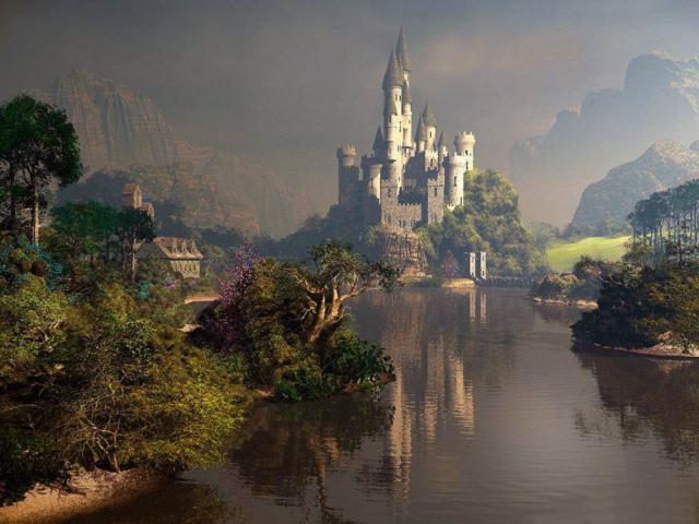 Таинственный замок, фэнтези