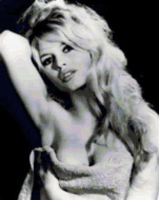 Бриджит Бардо, дама. портрет.