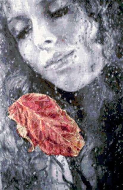 Осенний лист, предпросмотр