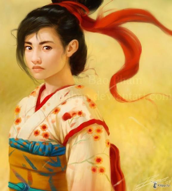 Китайская девушка, китай