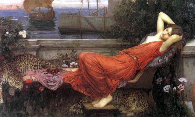 Спящая Ариадна, оригинал