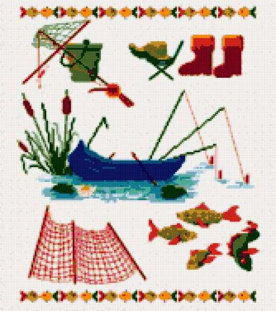 Рыбак 2, рыбак, удочки,