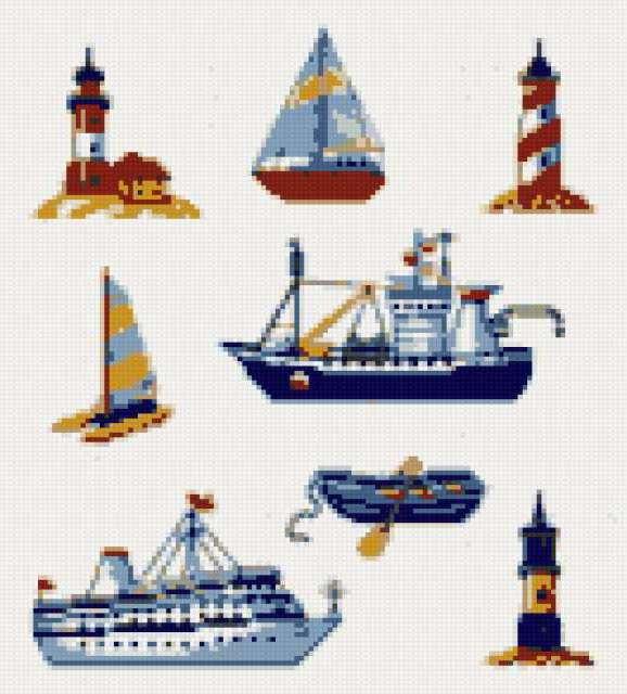 Корабли, кораблики 2