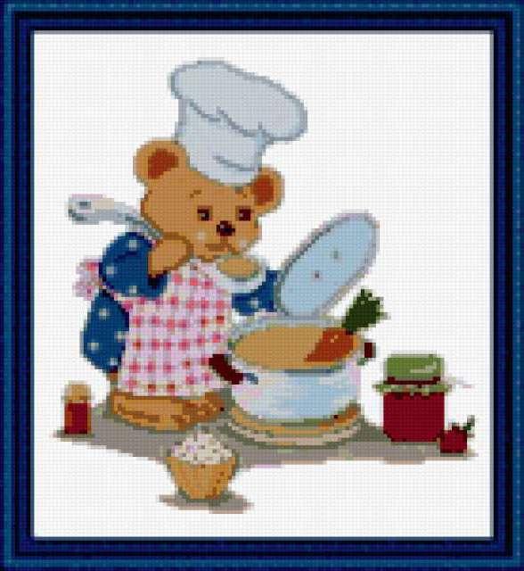 Поварёнок, повар, кухня