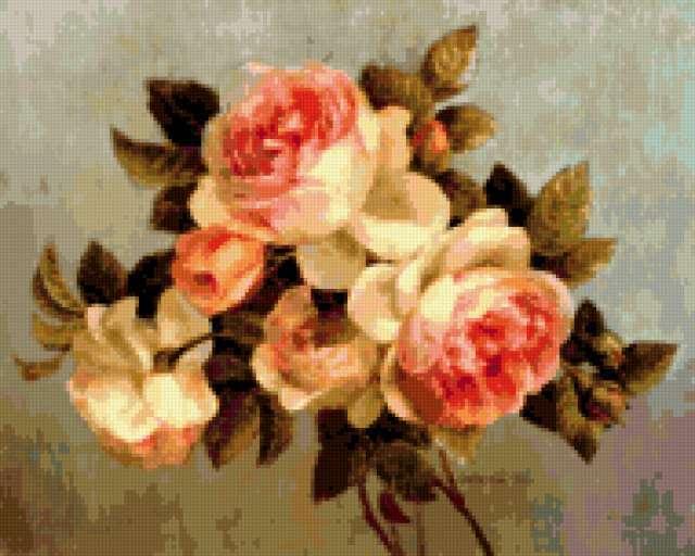 Античные розы, предпросмотр