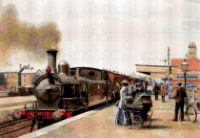 Прибытие поезда, предпросмотр